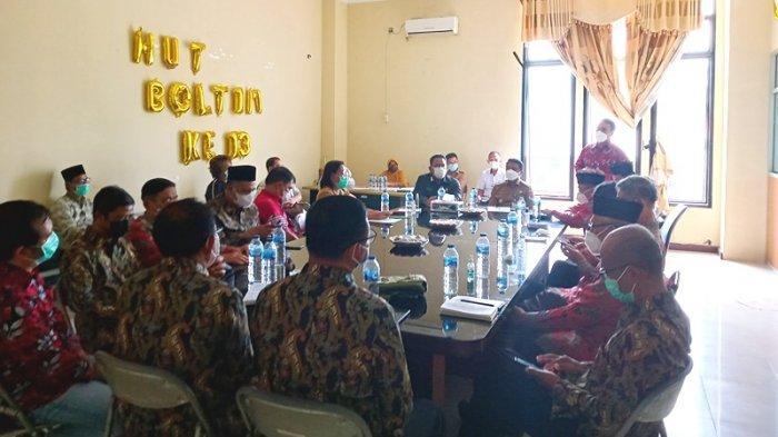 BKSAUA Provinsi Sulut Rapat Bersama Bupati Boltim Sam Sachrul Mamonto
