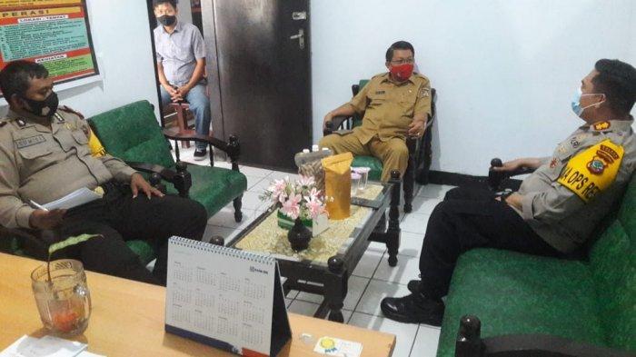 Polres Bersama Pemkab Minahasa Memperpanjang Masa Tugas Pos Covid-19 di Tiap Kecamatan