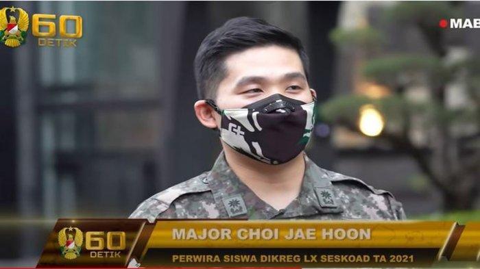 Rela Datang dari Korea Selatan, Major Choi Jae Hoo Ikut Seskoad, Sudah Mahir Berbahasa Indonesia