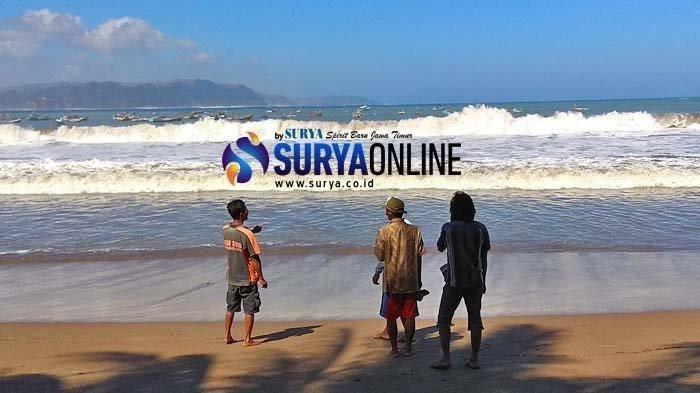 Heboh Pesan Tsunami 23 Meter di Pantai Sine Jawa Timur, Warga Ketakutan hingga Panik Pergi Mengungsi