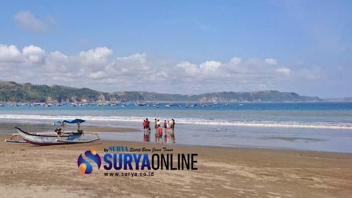 Pesan suara WA adanya tsunami terjadi di Pantai Sine Jawa Timur, Jumat 2 Juli 2021.