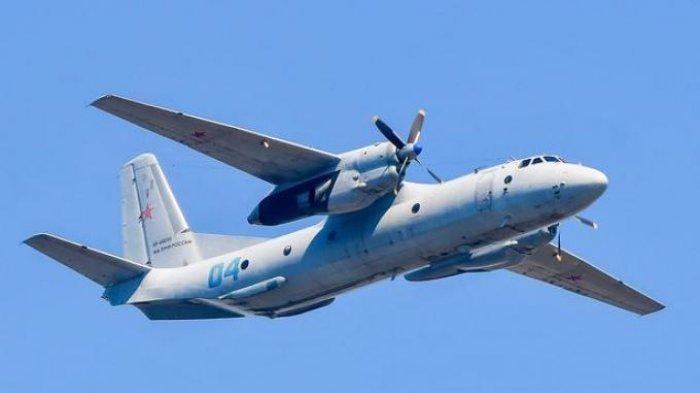 pesawat Antonov An-2 Sebuah pesawat <a href='https://manado.tribunnews.com/tag/rusia' title='Rusia'>Rusia</a> yang membawa 28 orang, termasuk seorang anak, dilaporkan jatuh ke laut