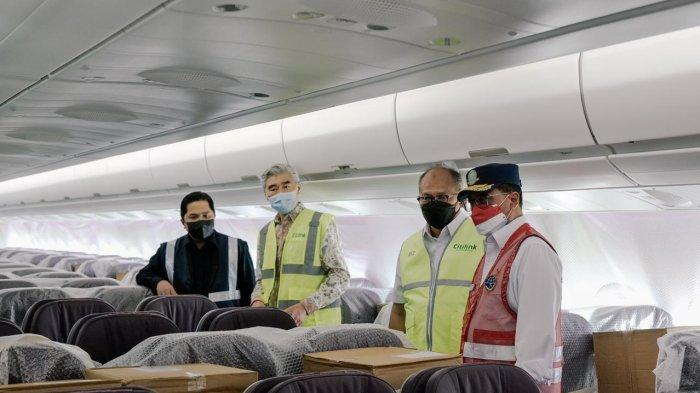 Citilink Terbang Langsung ke AS, Jemput Bantuan Alat Kesehatan untuk Penanganan Covid-19