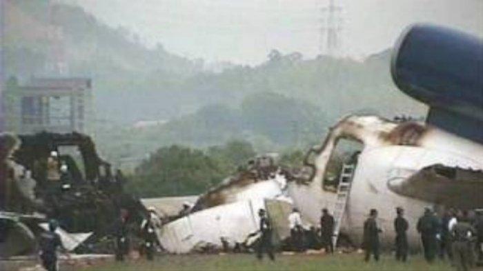 Kecelakaan Pesawat Garuda Indonesia, Terbelah Tiga Renggut Korban Jiwa, Peristiwa 25 Tahun Lalu