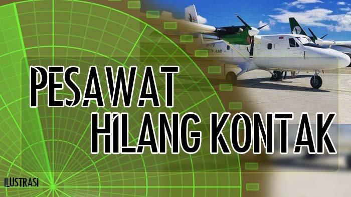Nama-nama Tiga Kru yang Berada di Pesawat Rimbun Air, Dinyatakan Hilang Kontak di Intan Jaya Papua