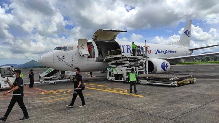 HinggaJuli 2021, Volume Kargo Bandara Samrat Manado Capai 9.290 Ton