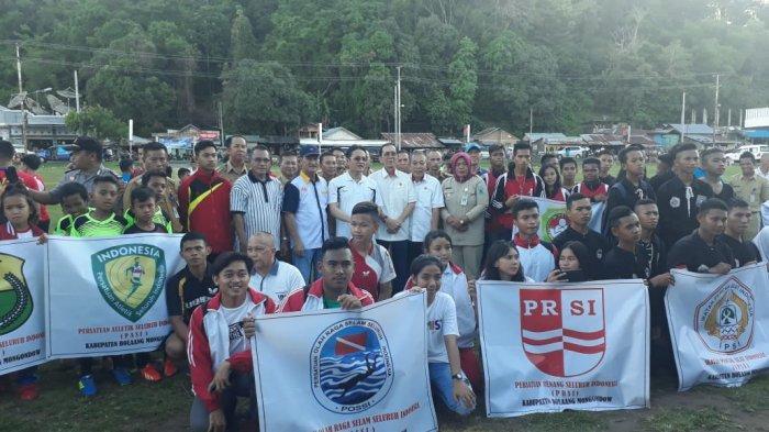 Peserta Pekan Olahraga Kabupaten Bolmong Kecewa Terhadap Dispora