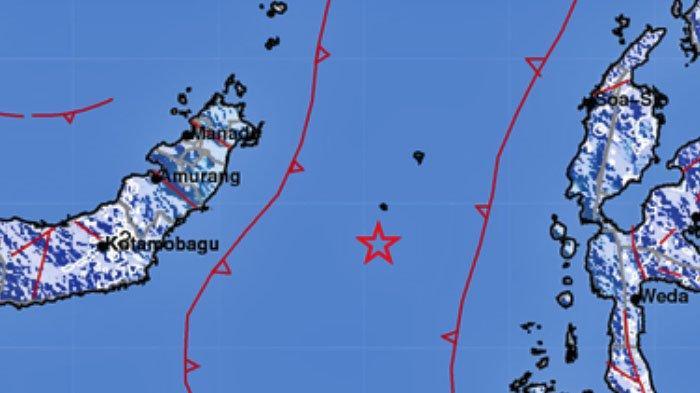 Gempa Tadi Malam Jam 10, Terasa di Manado, Kotamobagu dan Bitung, Sesuai Data BMKG