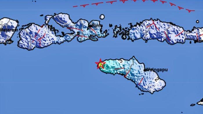 Peta Guncangan Gempa Bumi tadi pagi Rabu 18 November 2020. Ini lokasi dan kekuatannya.