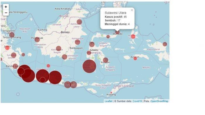 UPDATE COVID-19! Kasus Positif di Indonesia Capai 10.843, 20 Provinsi Ini Konfirmasi Kasus Baru