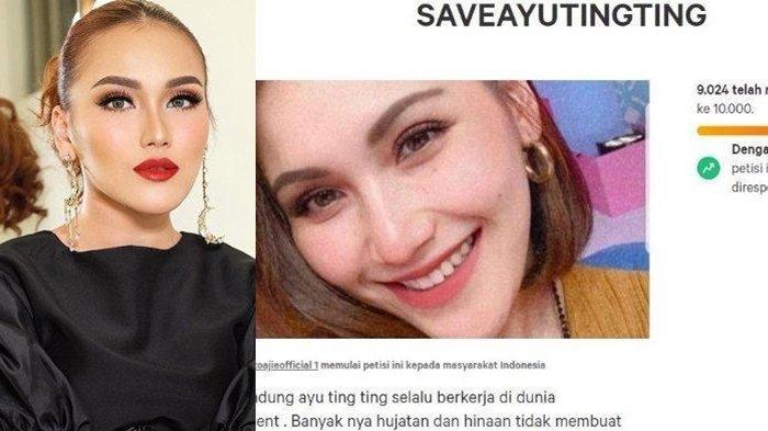 Petisi Save Ayu Ting Ting Dibuat Penggemar Untuk Bela sang Idola, Sudah Dapat 9 Ribu Tanda Tangan
