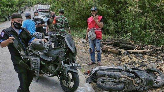 Kecelakaan Maut Pukul 10.30 WIB, Satu Keluarga dan Pemotor NMax Tewas Dihantam Truk Alami Rem Blong