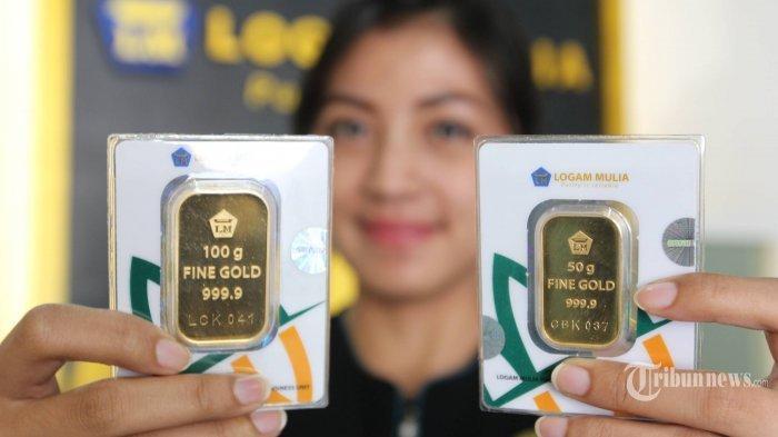 UPDATE, Harga Emas Antam Hari Ini Kembali Turun, Simak Trik Membeli Emas Secara Resmi