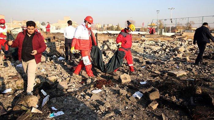 Pemerintah Iran Umumkan Penangkapan 30 Tentara Terkait Penembakan Pesawat Ukraina