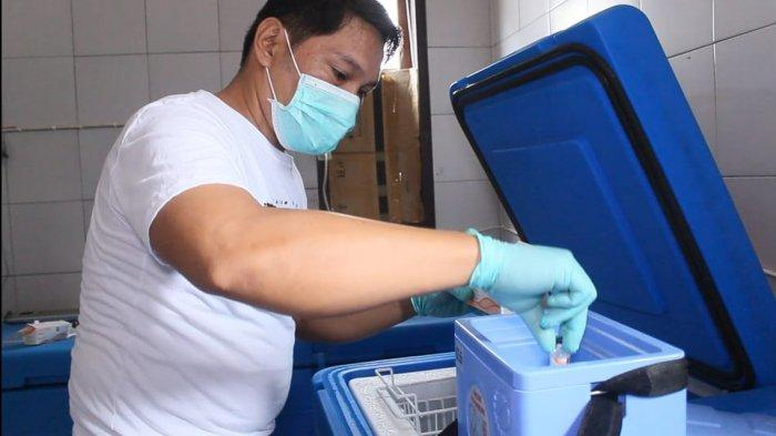 Kabupaten Kepulauan Sitaro Terima 1.400 Dosis Vaksin Covid-19