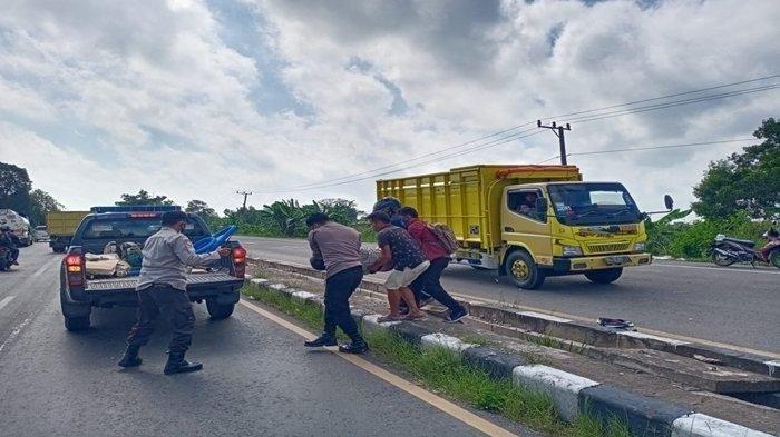 Kecelakaan Maut Pukul 11.00 WIB, Seorang Pria Tewas, Saksi Sebut Dengar Suara Benturan Keras