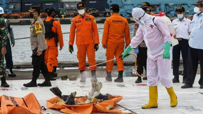 Hari ke-5 Pencarian Sriwijaya Air, Total 141 Kantong Jenazah Dievakuasi, 2 Korban Teridentifikasi