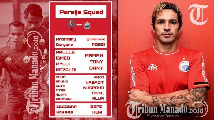 Persija Jakarta vs Ceres Negros, Silvio Escobar Minta Dimainkan dan Janji Buktikan dengan Gol