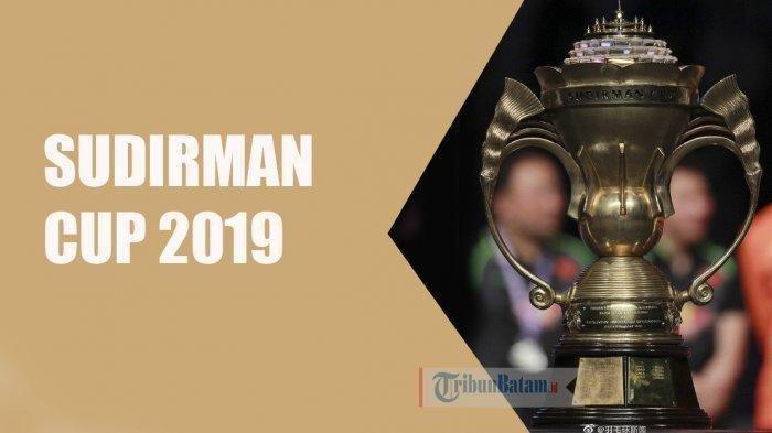 SEDANG BERLANSUNG Live TVRI! Live Streaming Final Piala Sudirman 2019 China vs Jepang Minggu (26/5)