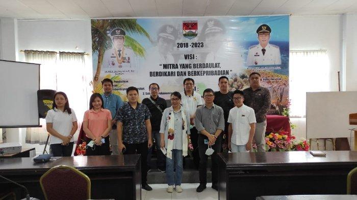 GAMKI Bersama PIKI Minahasa Tenggara Gelar FGD Bahas Perkonomian Mitra di Tengah Pandemi Covid-19