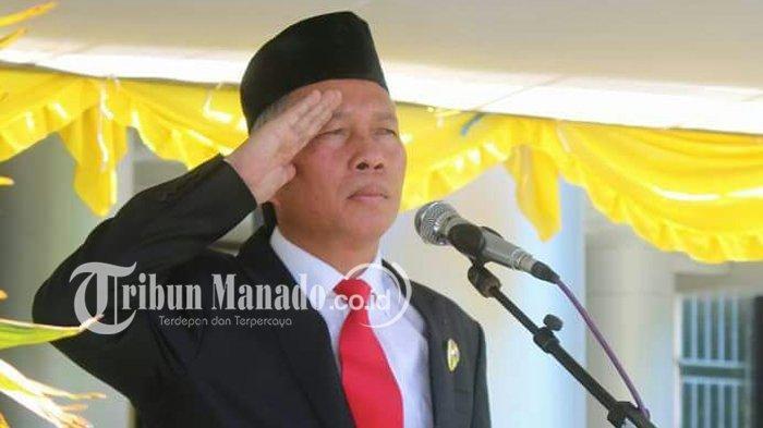 Bupati Franky Donny Wongkar Pimpin Rapat Satgas Covid-19 Minsel