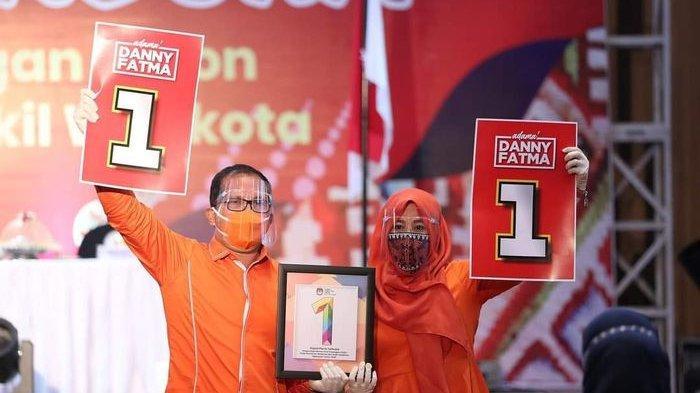 Unggul Signifikan, KPU Tetapkan Paslon Danny Pomanto-Fatmawati Rusdi Menang Pilkada Makassar