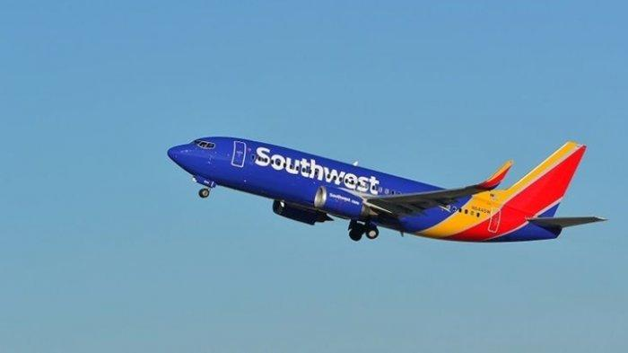 Pilot Tonton Video Asusila di Kokpit Pesawat <a href='https://manado.tribunnews.com/tag/southwest-airlines' title='SouthwestAirlines'>SouthwestAirlines</a>.