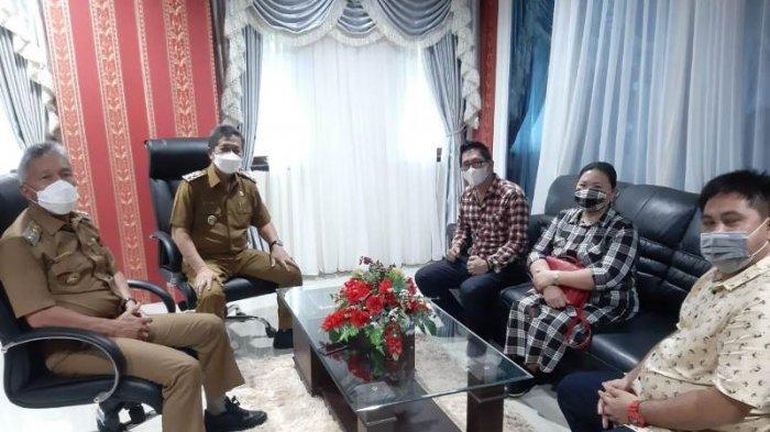 Bertemu Bupati, Perindo Minsel Komitmen Dukung Pemerintahan Frangky Wongkar-Petra Rembang