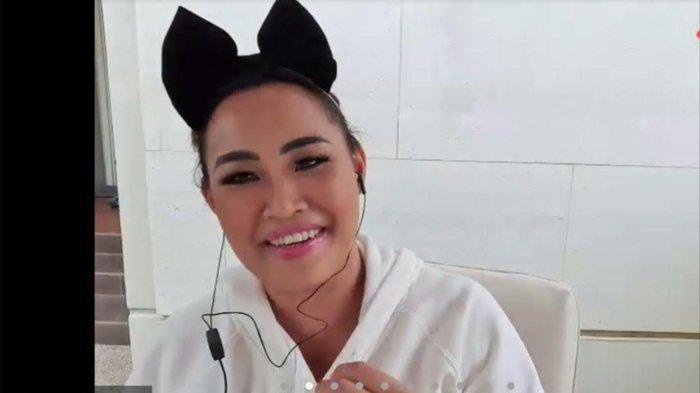 Pinkan Mambo dalam press brifing virtual 'Pop Academy', Kamis (13/8/2020).