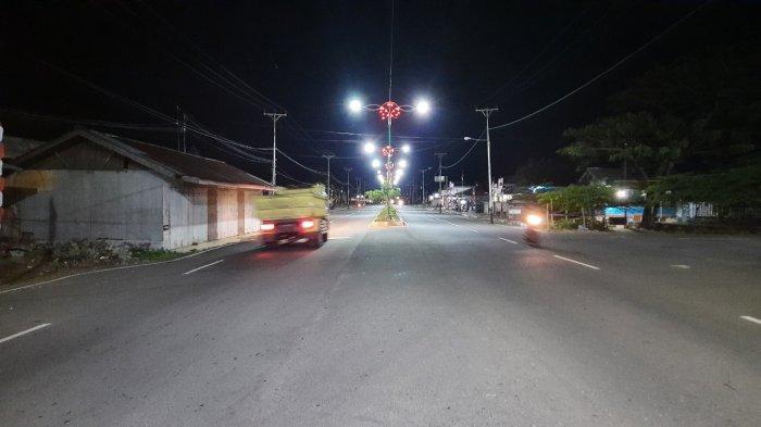 Sempat Padam, Lampu PJU di Ibu Kota Bolmong Kembali Normal