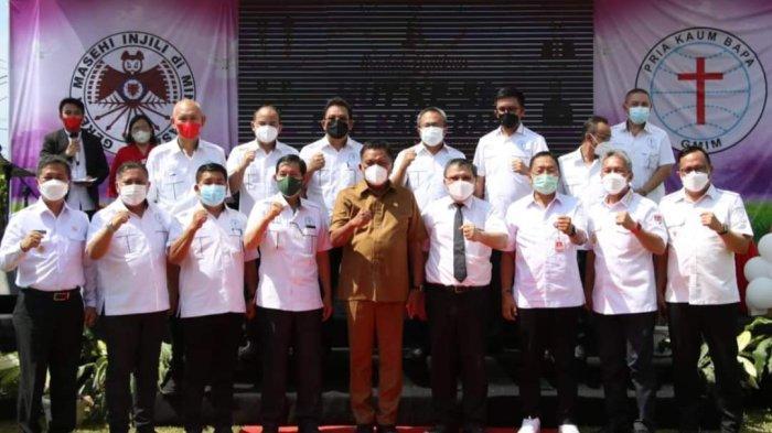 Ketua P/KB GMIM Pnt Vicky LumentutTegaskan Hindari Pengaruh Suap di Pemilihan Pelsus