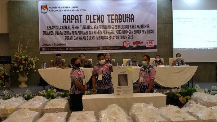 136 Personel Polres Minsel Amankan Pleno Rekapitulasi Pilkada