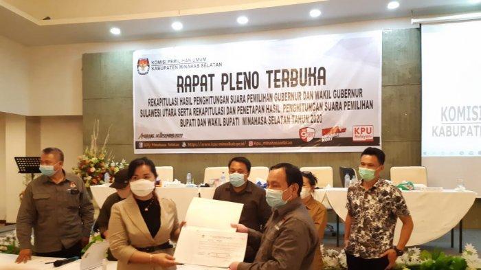 Pleno KPU Minsel Berjalan Lancar, Kapolres Minsel Terjunkan 136 Personel