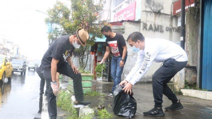 Jemmy Ringkuangan Pimpin Jajaran Pemkot Bersihkan Kota Tomohon
