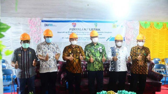 Dukung Masyarakat Desa Maju, PLN Listriki 10 Desa 3T Banggai Laut dan Banggai Kepulauan