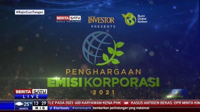 Serius Turunkan Emisi, PLN Group Raih 4 Penghargaan Emisi Korporasi 2021