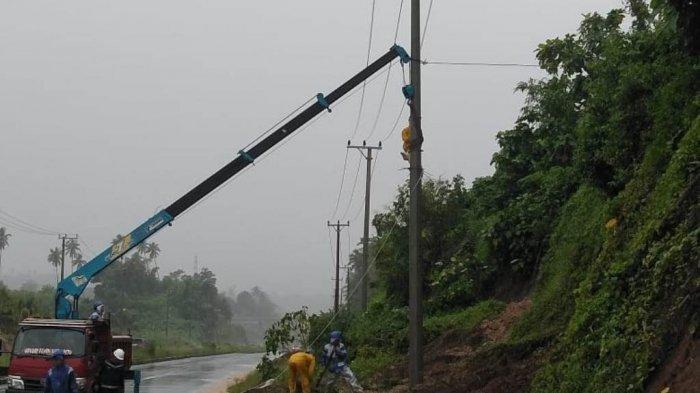 Update  Jumlah Gardu Listrik Yang Padam di Manado, Berikut Titiknya