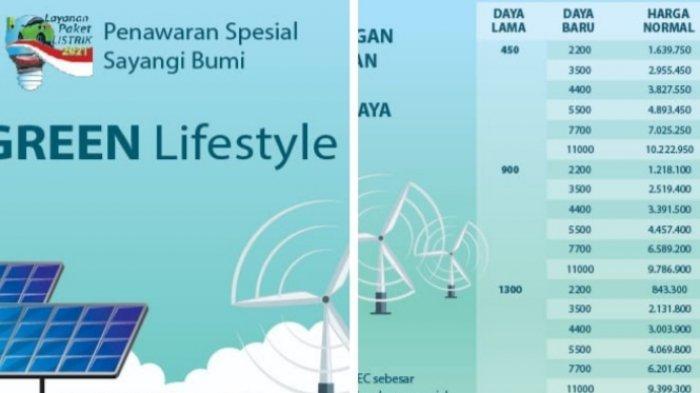 PLN Perpanjang Program Green LifeStyle, Ada Harga Spesial untuk Layanan REC dan Tambah Daya