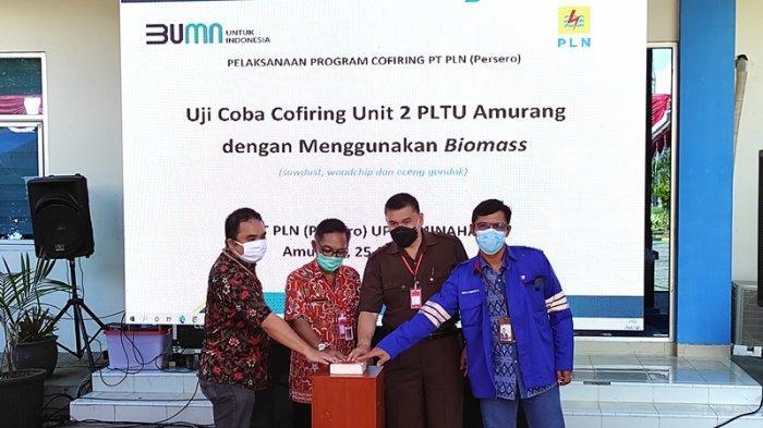PLN Ujicoba Co-firing Biomass di PLTU Amurang, Manfaatkan Limbah Kayu dan Eceng Gondok