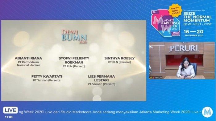 PLN meraih 3 penghargaan dalam ajang BUMN Marketeers Award 2020