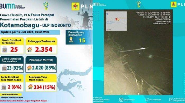 PLN secara bertahap menormalkan kembali seluruh sistem kelistrikan di wilayah yang sebelumnya terdampak