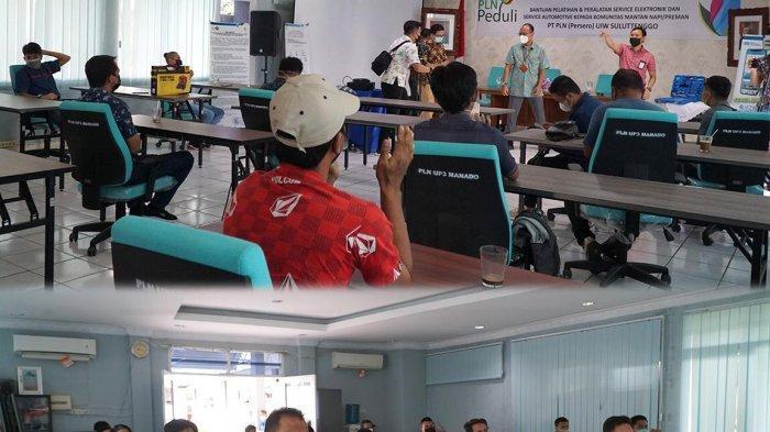 PLN Suluttenggo Bantu Alat dan Latih Para Mantan Napi - Preman Kota Manado