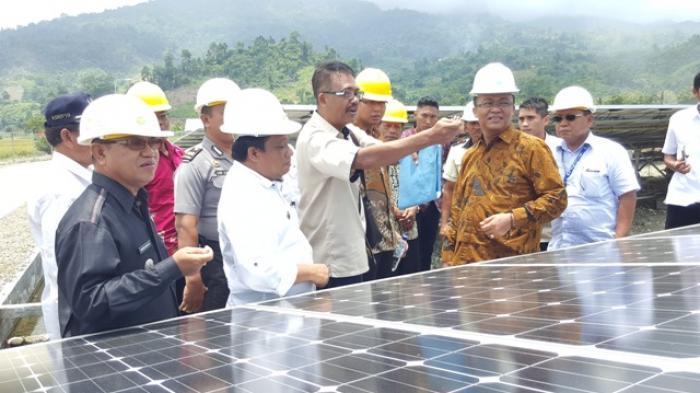 PLTS Terbesar di Pulau Sulawesi hadir di Gorontalo Utara