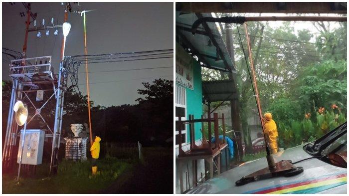 PLN UP3 Manado Normalkan Listrik Secara Bertahap,Masyarakat Diimbau Tetap Waspada Cuaca Ekstrem