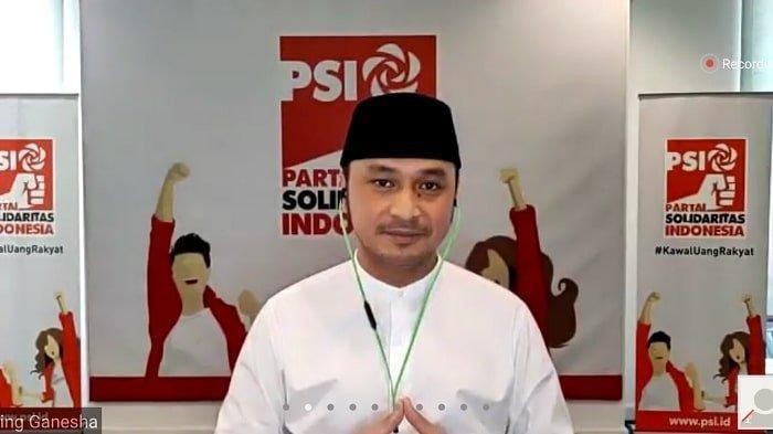 Plt Ketua Umum Partai Solidaritas Indonesia Giring Ganesha.