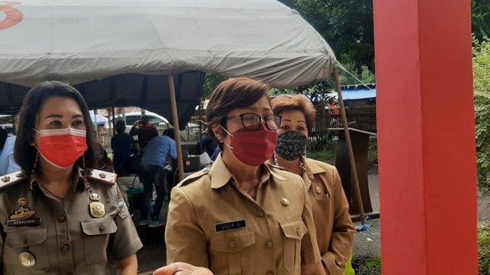 Tak Ikuti Vaksinasi Covid-19, Pedagang 'Dilarang' Berjualan di Pasar Beriman Tomohon