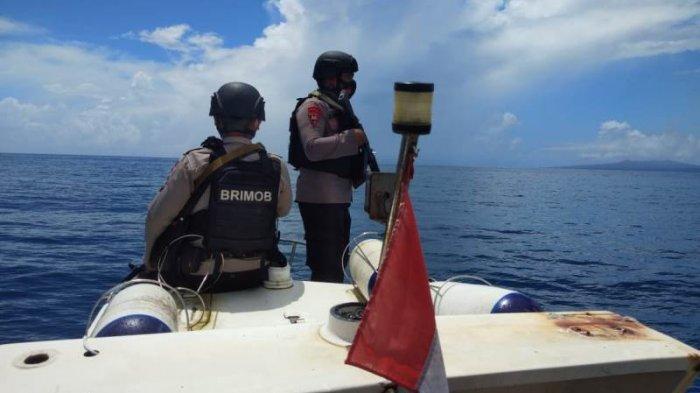 Polairud Talaud dan Brimob Kolaborasi Laksanakan Patroli Perairan di Wilayah Rawan Kejahatan