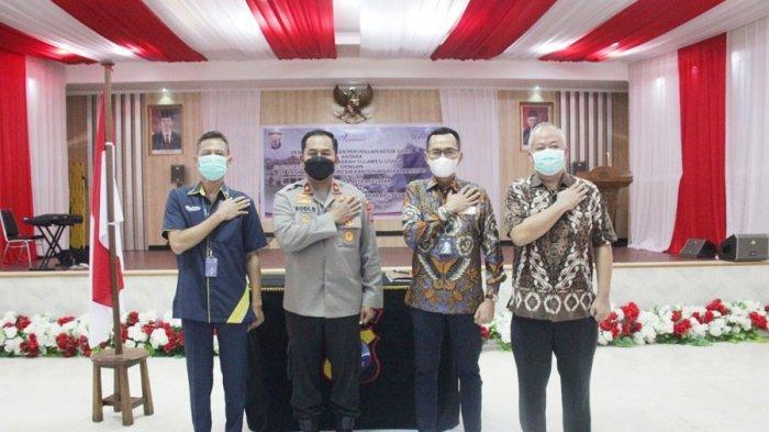 Bank BRI Lakukan Kerjasama Penyediaan Dan Pembiayaan Rumah Bagi Pegawai di Polda Sulut