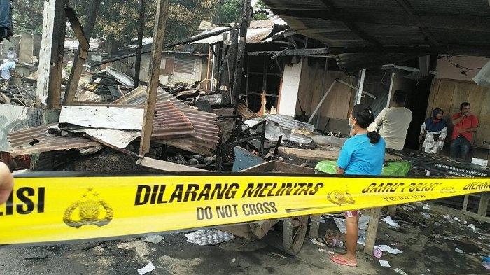 Para Korban Kebakaran Pasar Paniki Terima Bantuan, Lurah Paniki Dua: Kami Sangat Berterima Kasih
