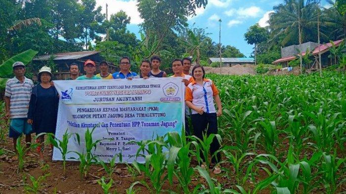 Polimdo Ajari Petani Tentukan Harga Pokok Produksi Jagung
